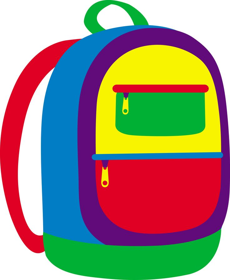 Backpack clipart color.  best images on