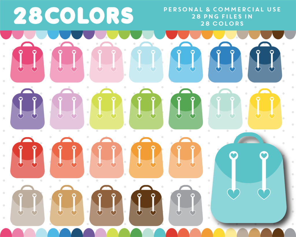 In colors cl paesyn. Backpack clipart color