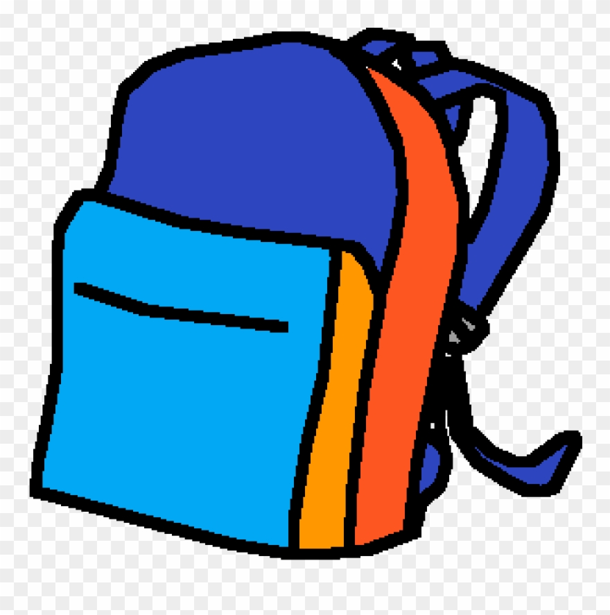 Uwu by yourboimicro drawing. Backpack clipart easy