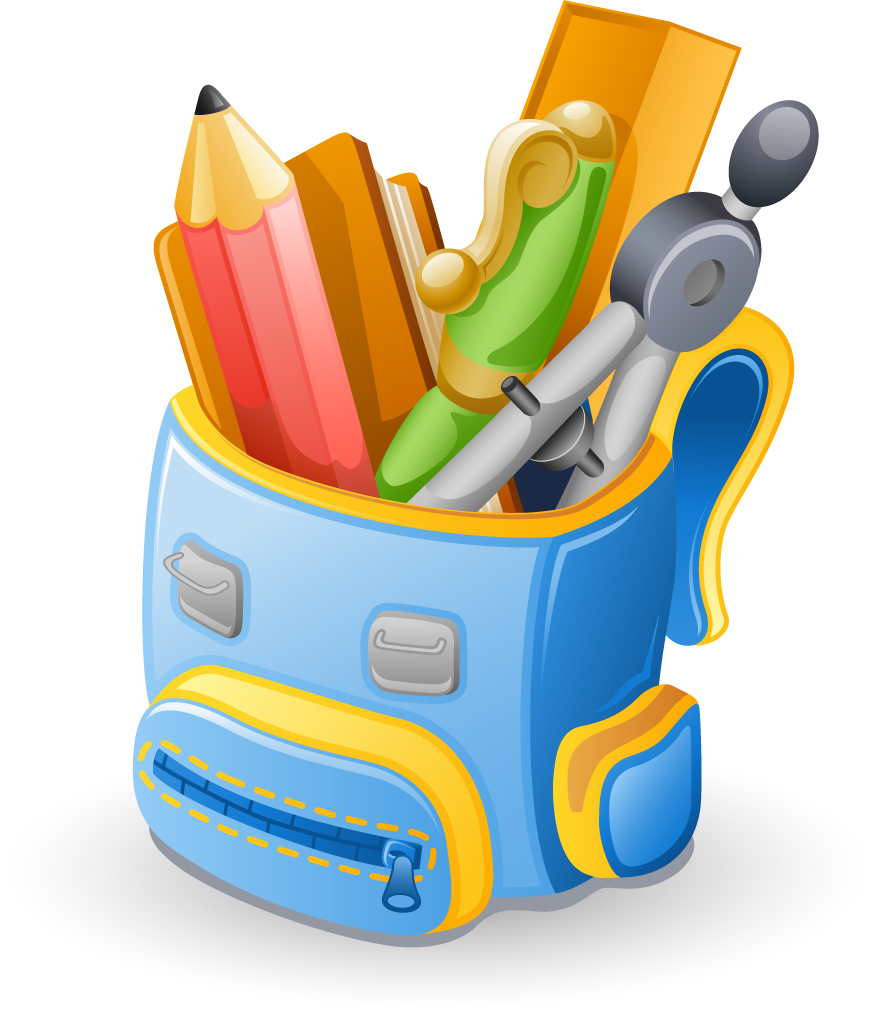 Backpack clipart elementary education. Yuba city unified school