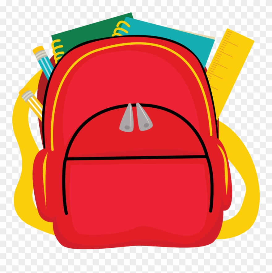 Backpack clipart elementary school. Student bag png