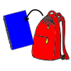 Backpack clipart folder. Lessonpix out