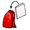 Lessonpix in. Backpack clipart folder