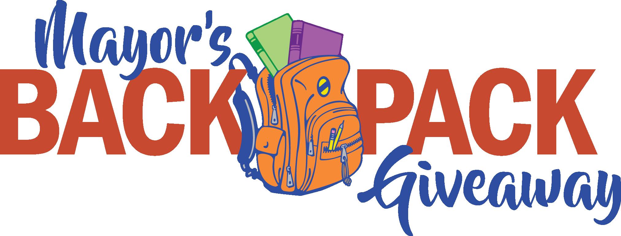 Backpack clipart giveaway. Mayor s ktbs com