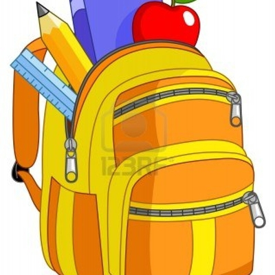 Backpack clipart giveaway. Back to school free
