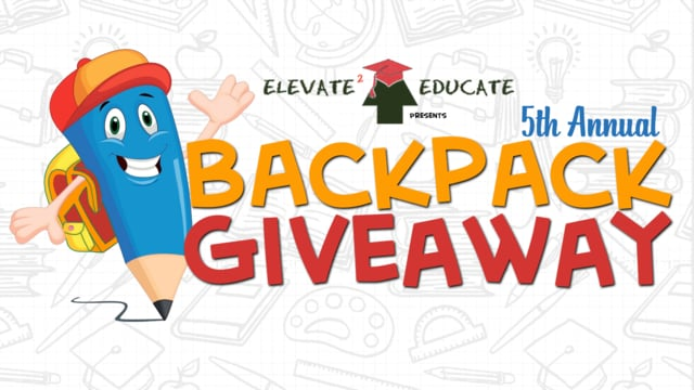 On vimeo . Backpack clipart giveaway