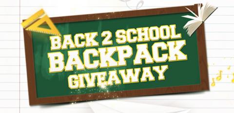 Backpack clipart giveaway. This saturday goshen elementary