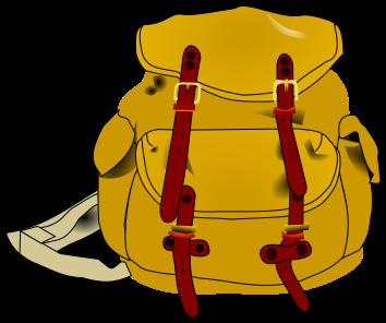 Backpack clipart hiking. Clip art photo clipartix