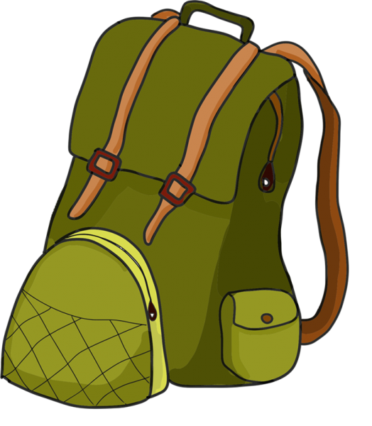 Nice clip art download. Backpack clipart hiking
