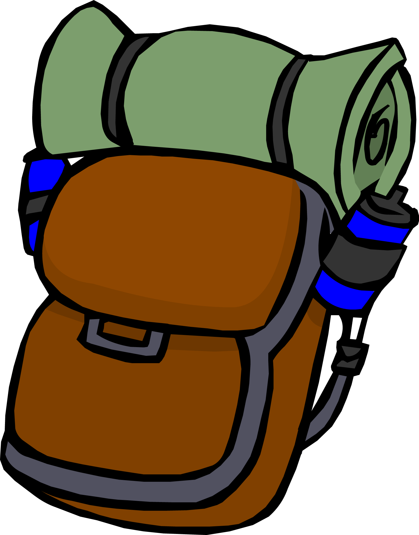 Image hiking png club. Clipart backpack backbag