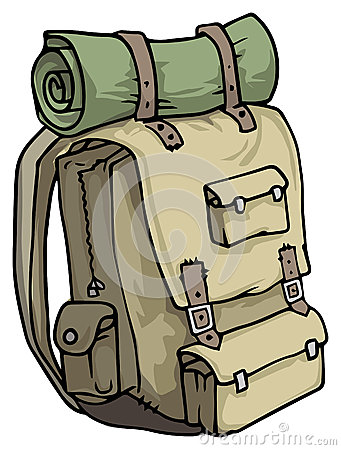 Backpack clipart hiking. Drawing at getdrawings com