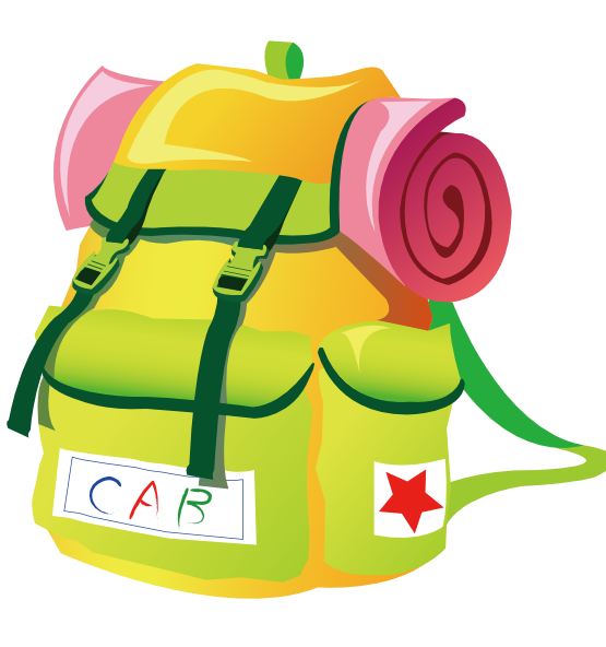 Hiking backpack photo clipartix. Hike clipart clip art
