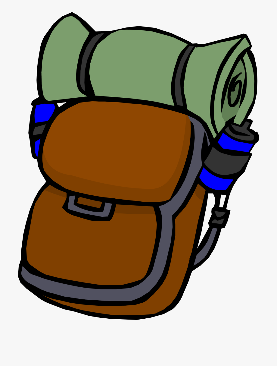 Backpack clipart hiking. Png