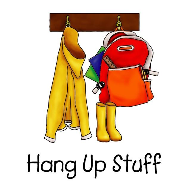 Hang . Backpack clipart jacket