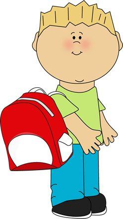 best summer schedule. Backpack clipart jacket