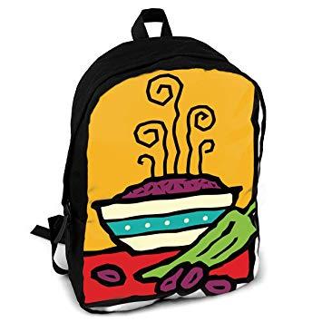 Amazon com pot of. Backpack clipart knapsack