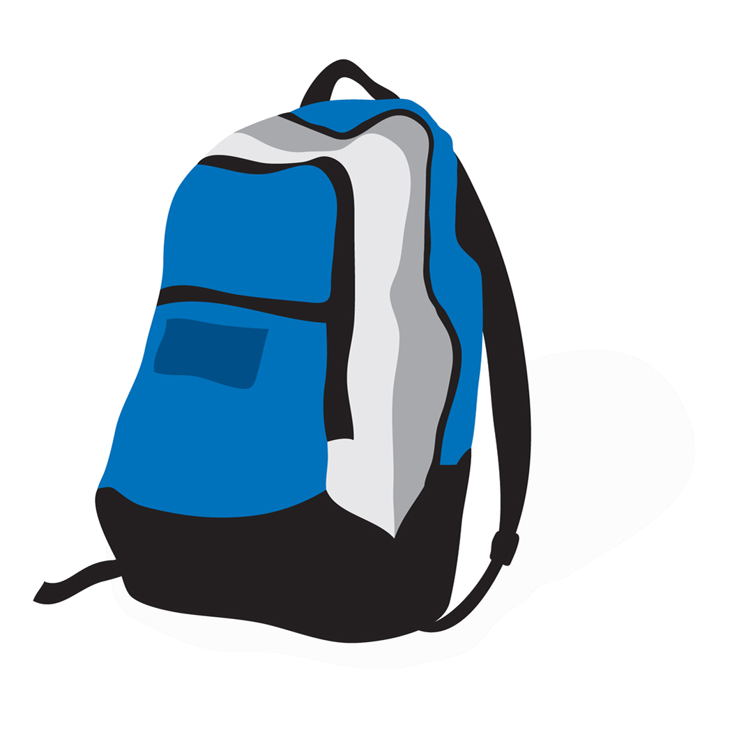 Bag clipart haversack. Backpack png images free