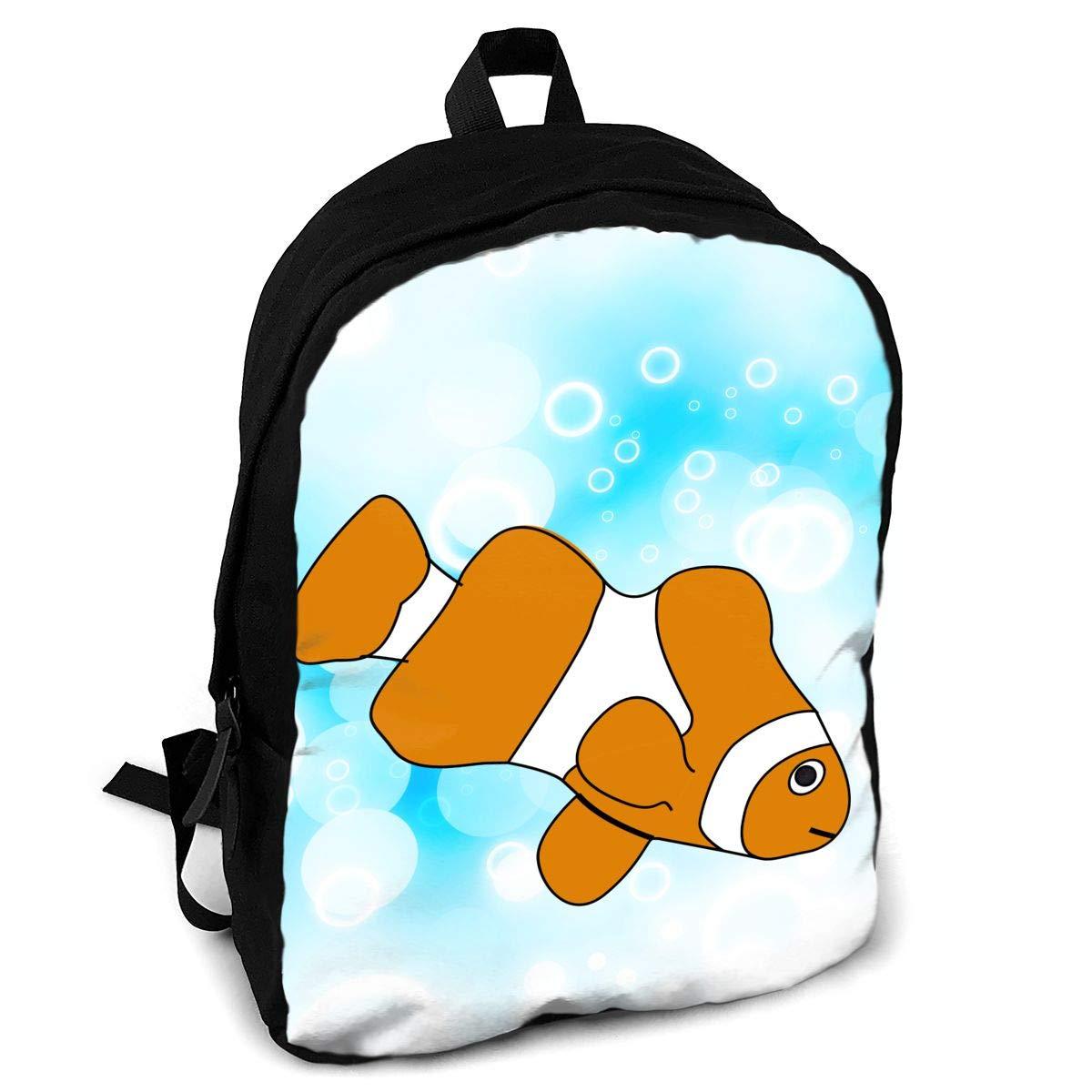 Backpack clipart knapsack. Amazon com clown fish