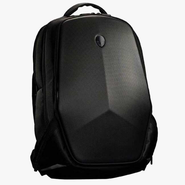 Backpack clipart laptop bag. Alien computer leave the