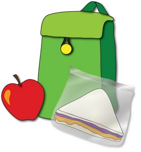 Free image school students. Backpack clipart lunch