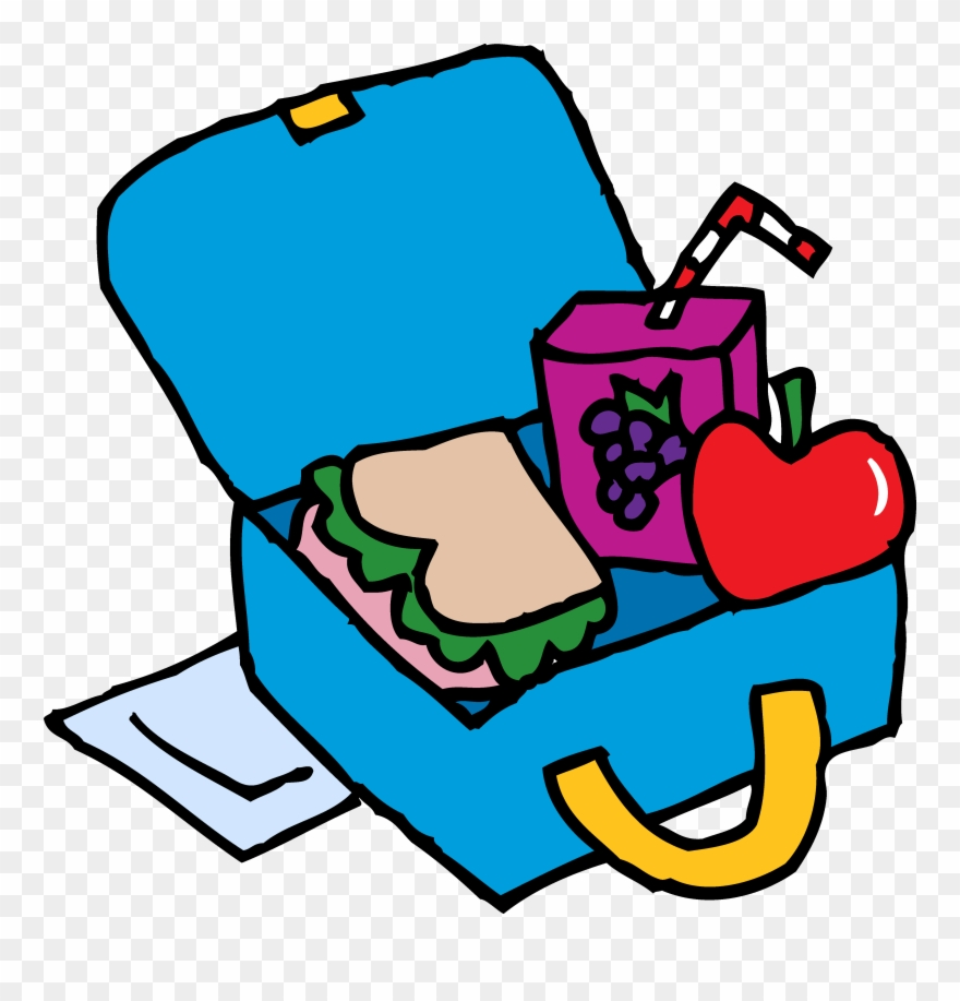 Box free download clip. Backpack clipart lunch