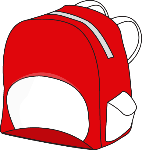 Backpack clipart object. School supplies clip art