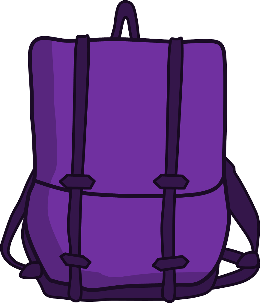 Image png shows community. Backpack clipart object