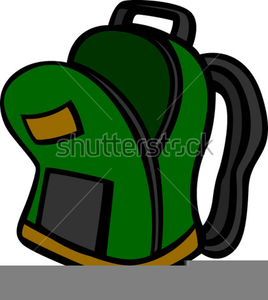 Backpack clipart open. Free images at clker
