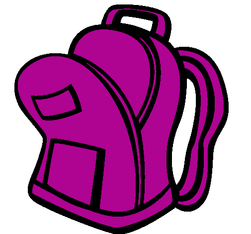 Free purple cliparts download. Backpack clipart open