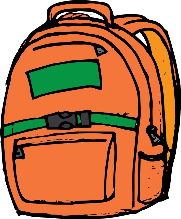 Backpack clipart orange backpack.  best images on