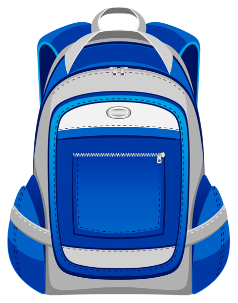 Backpack clipart plain. Free download clip art