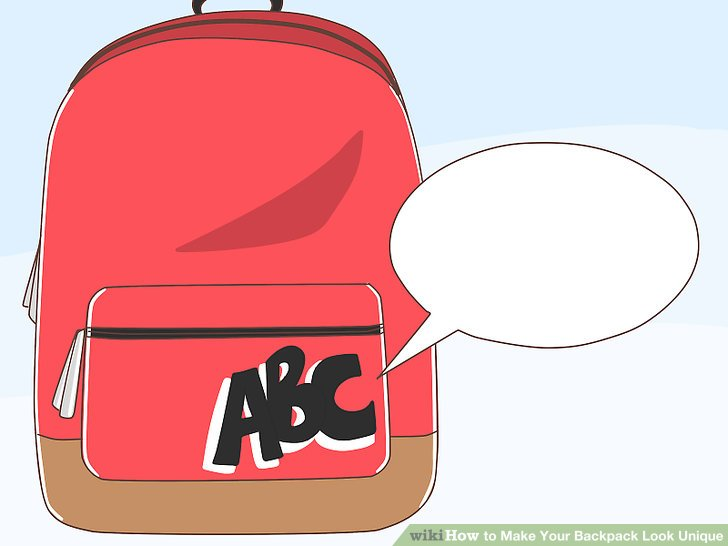 How to make your. Backpack clipart plain