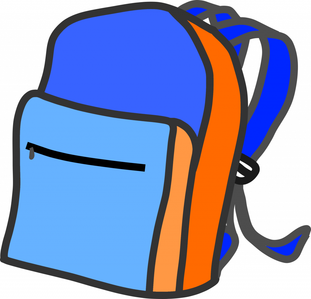 To free images . Backpack clipart printable