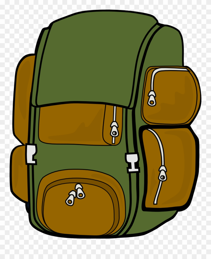 Backpack clipart safari. Of packing and bag