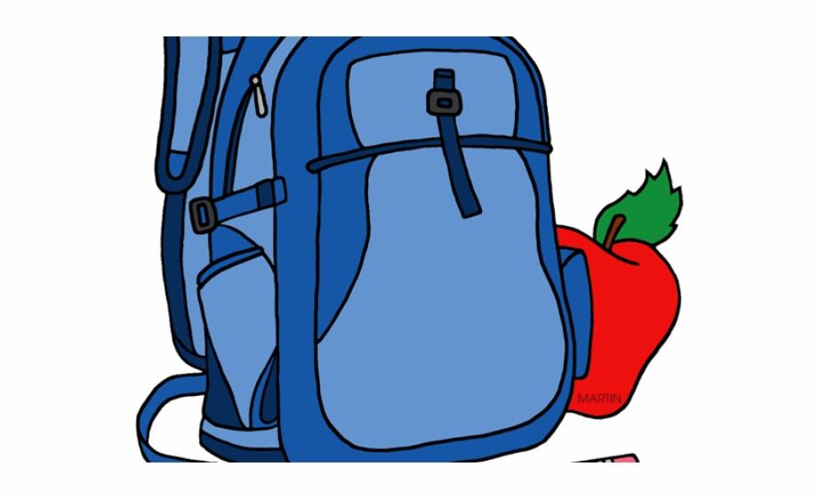 Backpack clipart school bag.