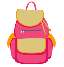 Backpack clipart school bag. Search results for clip