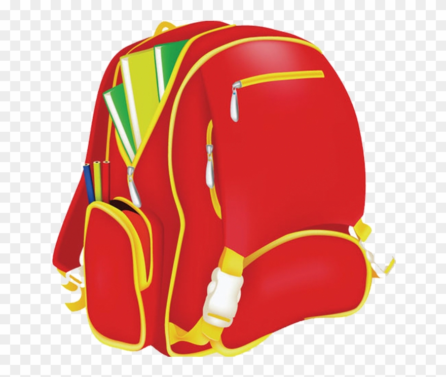 Backpack clipart school bag. Picture transparent download clip