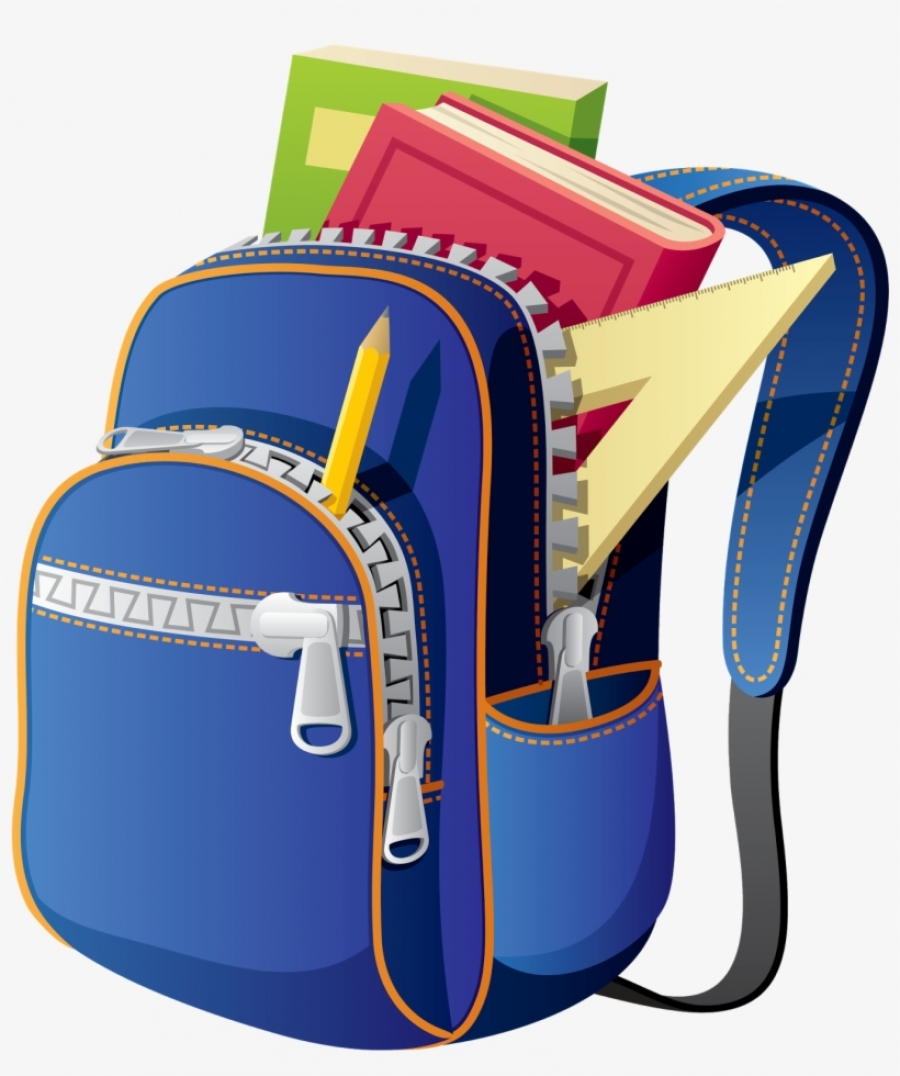 Backpack clipart school supply. Lists
