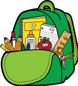 Giveaway ventura county rescue. Backpack clipart school supply