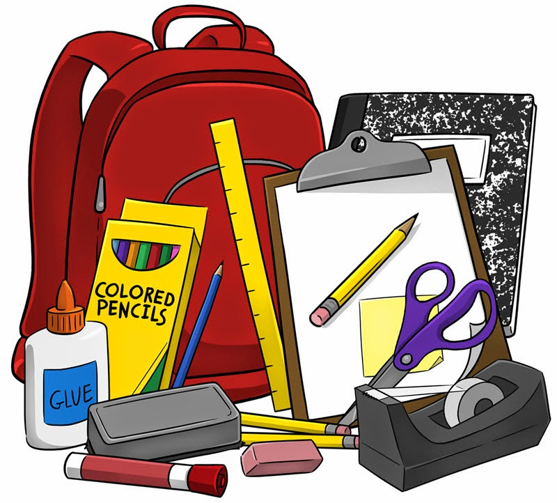 7 clipart item. School supply application dawson