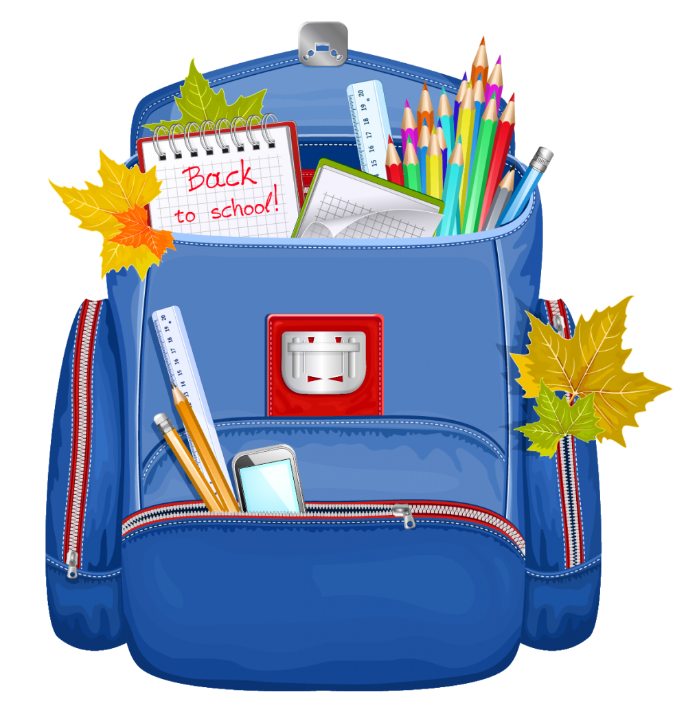 Order your supplies now. Backpack clipart school supply