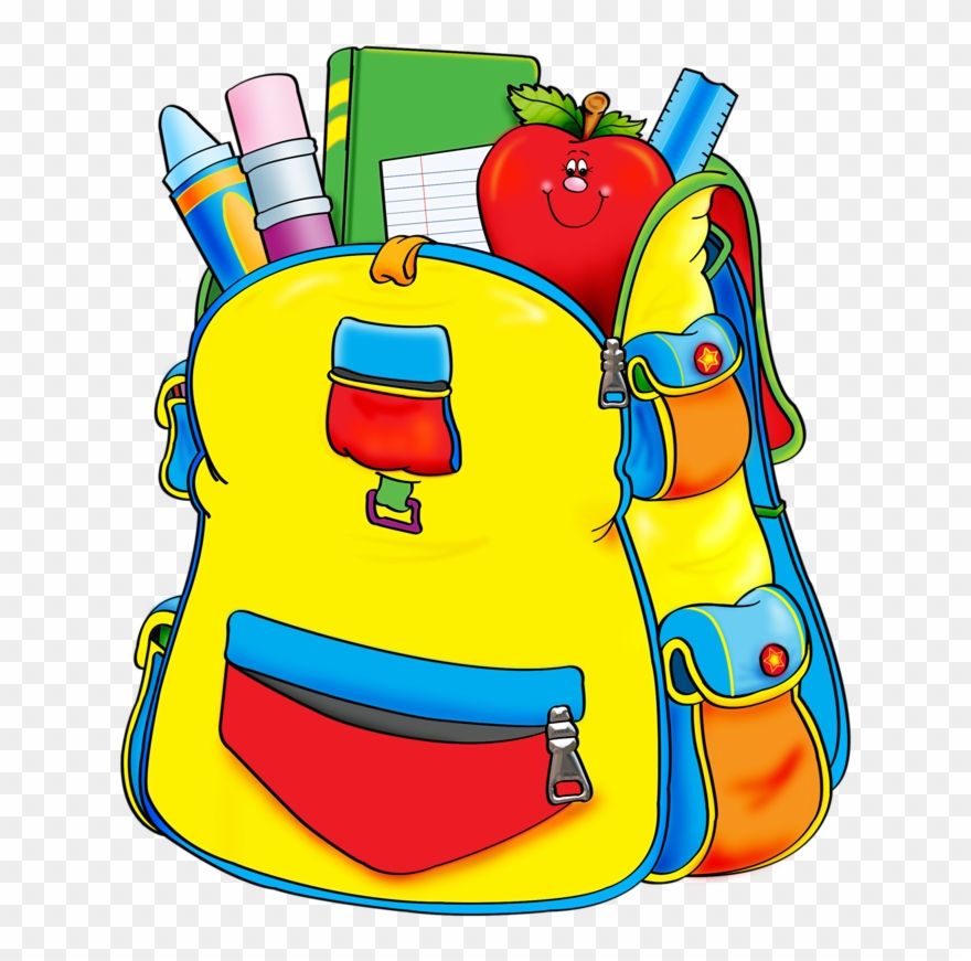 Blue png supplies . Backpack clipart school supply