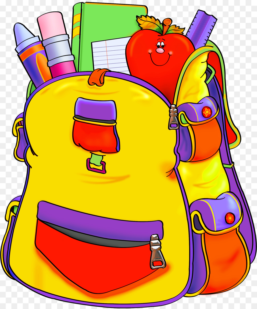 Education supplies clip art. Backpack clipart school supply