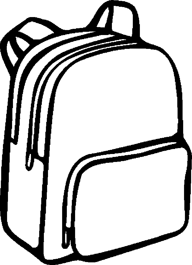Free images of supplies. Backpack clipart school system