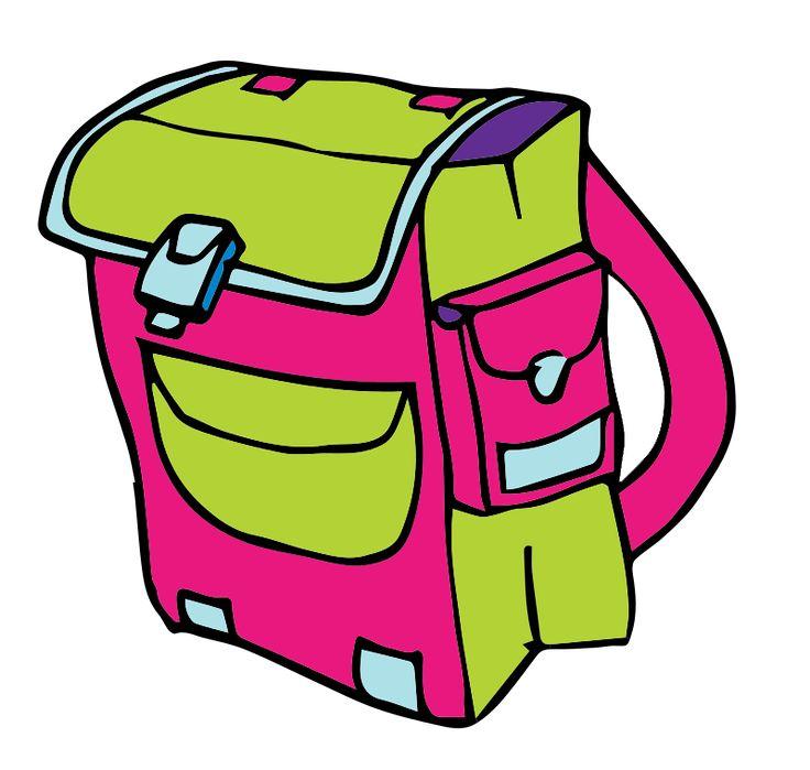 best bag clip. Backpack clipart school system