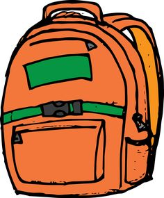 Kids practice using the. Backpack clipart school system