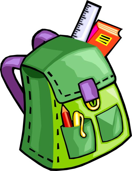 Backpack clipart school system. Riverside community district supplies