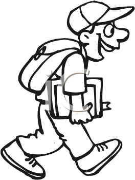 Backpack clipart shoe. Kid with panda free