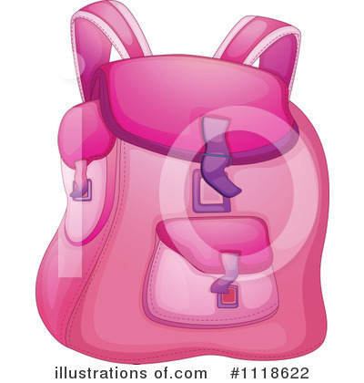 Illustration by graphics rf. Backpack clipart shoe