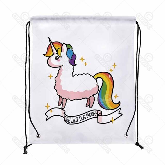 Backpack clipart shoe. Bling cute rainbow alpaca